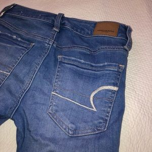 Super stretchy American Eagle jeans